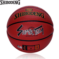 Official Size 7 PU Leather Standard Basketball Indoor Outdoor Mens Basket Ball Training Match Ball Free Net Bag Needle 723