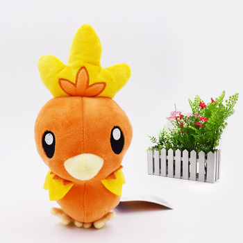 18 cm Animal Cartoon Plush Peluche Doll New Style Torchic Soft Stuffed Hot Toy Great Christmas Gift For Children new plush toy hedgehog soft fill cartoon plush animal high quality doll children birthday gift 20 cm wj222