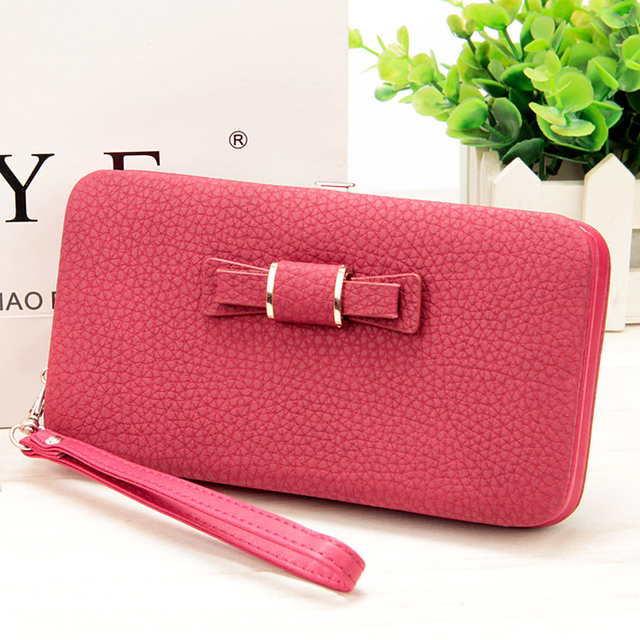 10 colors Purse wallet female famous brand card holders cellphone pocket gifts for women money bag clutch 888 2