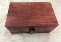 Tập tin văn phòng phẩm hộp lưu trữ hộp Làm Cho cũ sáng tạo tay cầm bằng gỗ hộp lưu trữ lớn tại ch