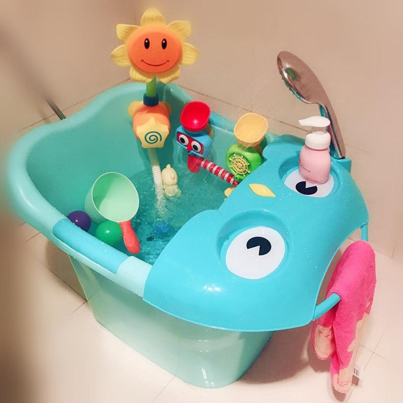 Online Shop 2 In 1 Foldable Newborn Baby Bathtub Baby Sitting Lying ...