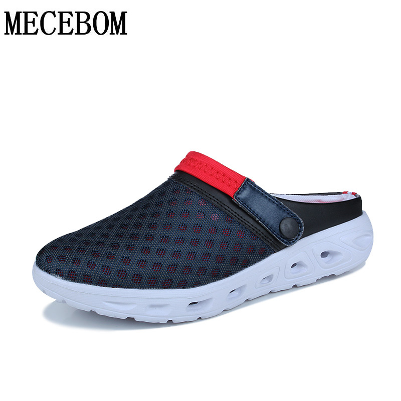 New design men shoes 2017 summer big size 46 man casual breathable slippers Slip On light beach flip flops L938M toursh men summer shoes sandals new breathable beach slip on mens slippers walking cool outdoor for casual summer slippers blue