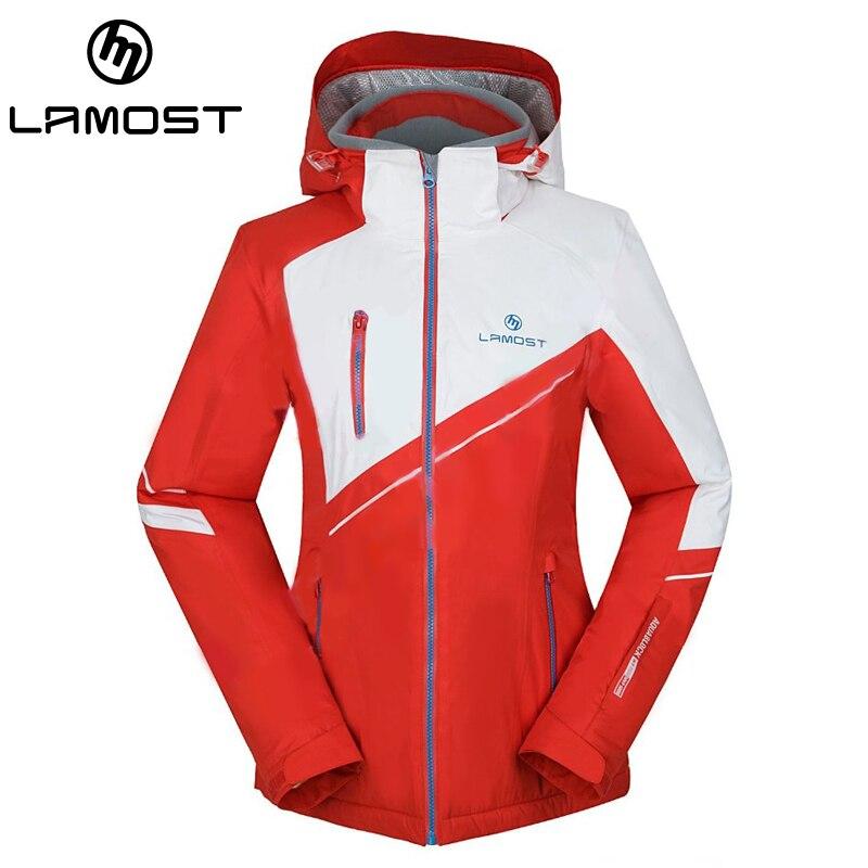 Prix pour LAMOST Avant de la Marque femmes ski Vestes femmes Top Qualité Extérieure Coupe-Vent Imperméable snowboard veste femmes