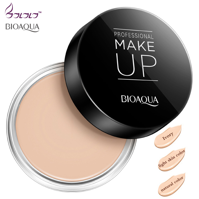 pressed powder concealer makeup BIOAQUA professional makeup beauty face skin care concealer cover makeup clear & delicate makeup
