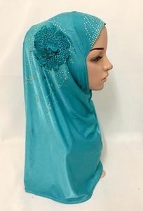 Image 2 - Islamitische Dames Hoofd Sjaal Hoofddeksels Moslim Hijab Innerlijke Cap Wrap Shawl Sjaal Ramadan Arabische Amira Hoofddoek Volledige Cover Tulband Hijab