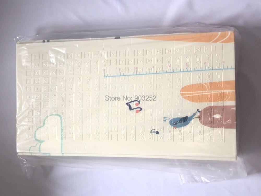 Детский игровой коврик с медведем, складной детский коврик для ухода за младенцем, XPE, пенопластовый Коврик для пола, очень большой Реверсивный водонепроницаемый портативный двусторонний коврик