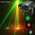 Новый МИНИ R & G Дистанционного 8 Большие модели Лазерный проектор Этап освещение Disco Dance Домой На День Рождения Партии DJ Световое Шоу система c8