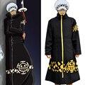 ONE PIECE Trafalgar Law (Trafalgar D Water Law) Long Cloak Unisex Jacket Hot Saleing Halloween Cosplay Costume Cosplay fantasias