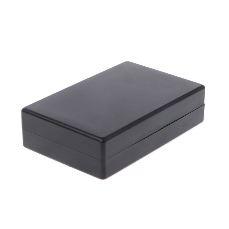 OOTDTY 125x83x32mm Black Waterproof Box Electronic Project Instrument Case ConnectorOOTDTY 125x83x32mm Black Waterproof Box Electronic Project Instrument Case Connector