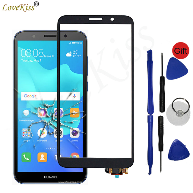 "5.45"" Y5 2018 Front Panel For Huawei Honor 7A 7S DUA L22 Y5 Prime 2018 DRA L22 Touch Screen Sensor Glass LCD Display Digitizer"