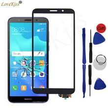 """5.45 """"Y5 2018 Sul Pannello Frontale Per Huawei Honor 7A 7S DUA L22 Y5 Prime 2018 DRA L22 Touch Screen Sensore di vetro Display LCD Digitizer"""