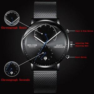 Image 5 - 2020 Men Business Wrist Watch Man Watches Chronograph Luxury Brand Male Clock Quartz Wristwatch Male Watch Mens Wristwatches