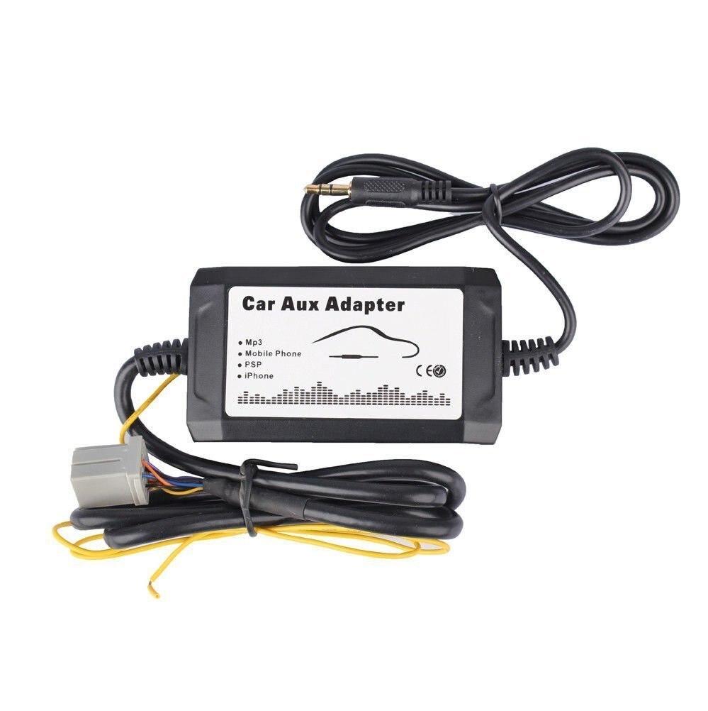 adaptador de interfaz de 12 V para coche Adaptador de entrada AUX USB para coche adaptador de entrada de audio auxiliar de coche