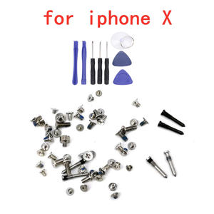Full-Screw-Set Assemble-Tools Replacement-Parts Repair-Bolt iPhone Hot-Sale for X Complete-Kit