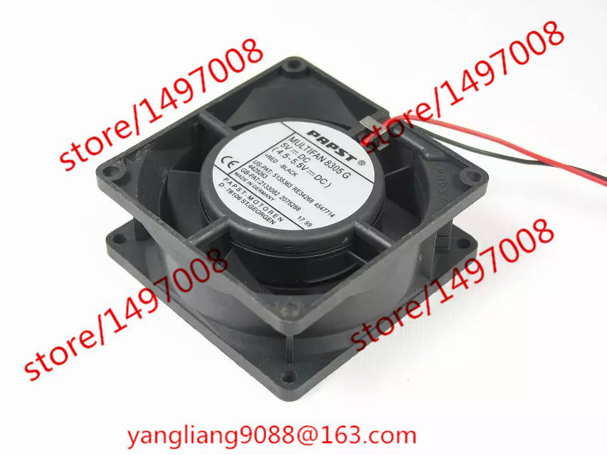 Free Shipping For ebmpapst MULTIFAN 8305G 8305 G DC 5V 2-wire 80x80x32mm Server Square Cooling fan free shipping new original ebmpapst blowers 4412n 1238 12v 5 3w wind capacity