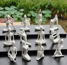 Desktop Simple Home Yoga Hall Decorative Ceramic Crafts Decoration Gifts Zen Wedding Accessories