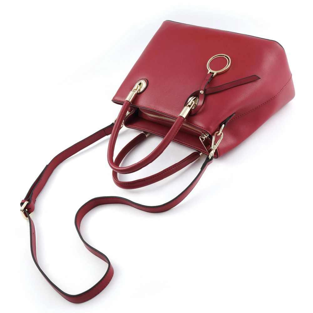 BISON джинсовые кожаные женские сумки роскошные сумки женские сумки дизайнерские модные сумки через плечо bolsa feminina сумка через плечо N1483-1R