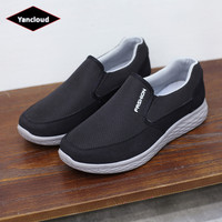 Men Shoes Spring Summer Breathable New 2019 Fashion Casual Cloth Shoes Slip on Man Driving Shoes Leisure Trainers