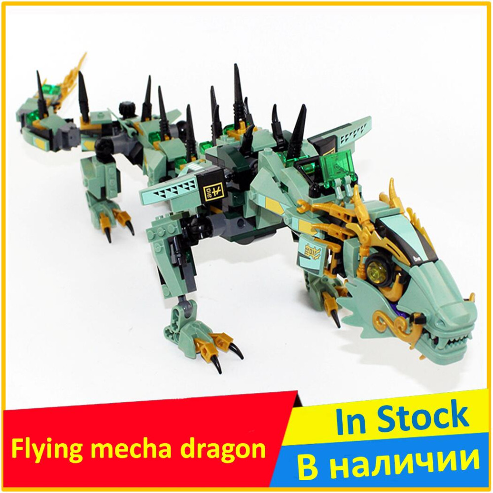 Flying mecha dragon 70612 Building Blocks Model Educational Toys For Children 06051 Compatible Ninja Brick Set