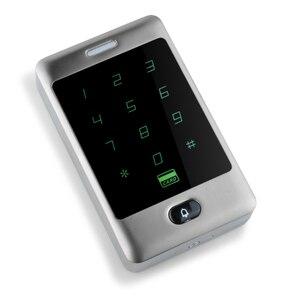 Image 3 - RFID сенсорная Водонепроницаемая металлическая система контроля доступа с 12 В постоянного тока NC/без электрического болтового замка/магнитный замок для двери безопасности