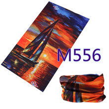 M541-560 Fashion Bufanda Tubular Hijab Camo Bandana Scarf Seamless Neck Tube Bandana Standard Size 48*25cm Men Bandana