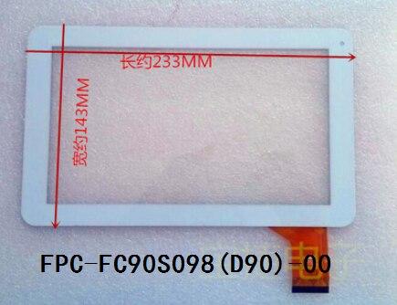 FPC-FC90S098 (D90)-00 Новое и оригинальное, и 9 дюйм(ов) tablet емкостный сенсорный экран бесплатная доставка