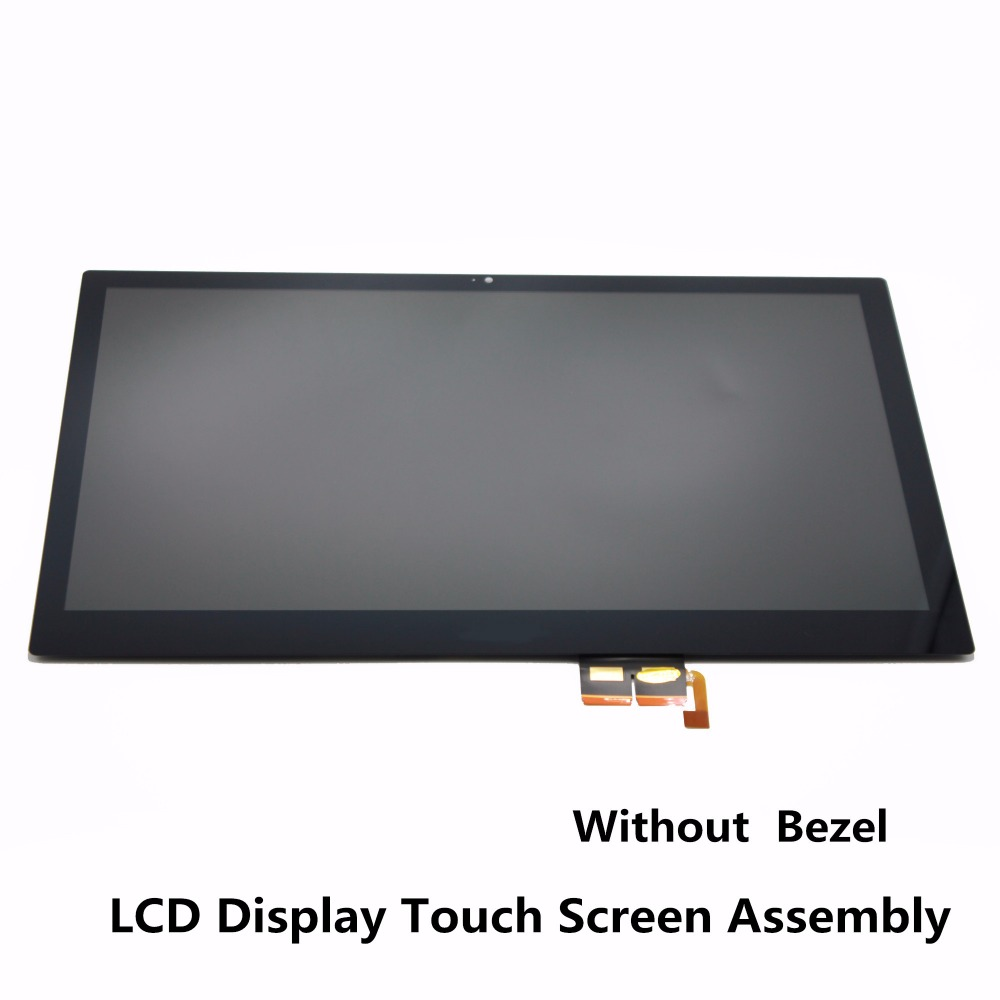 14'' For Acer Aspire V3-472P V3-472PG Series Laptop LCD Display Touch Screen Glass Assembly Digitizer Panel + Bezel N140BGE-EA2 a065vl01 v3 lcd screen