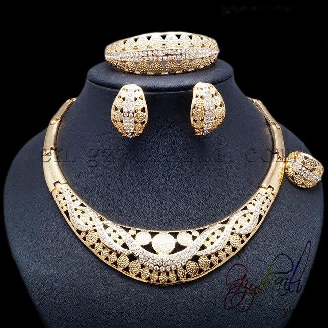Yulaili Graceful Semi precious Stones Jewelry Set-in ...
