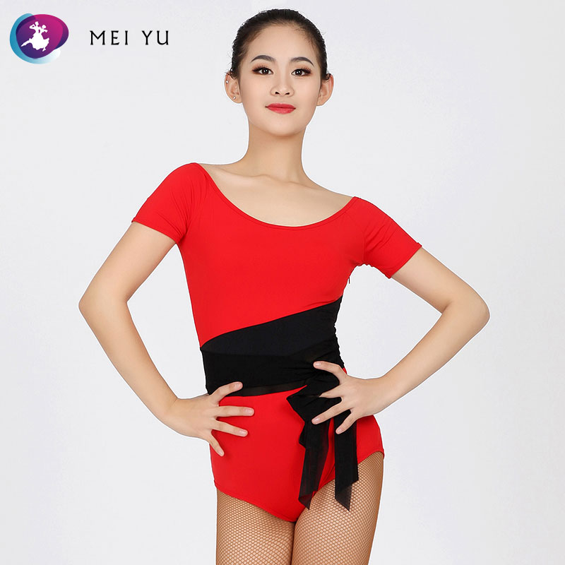 Ballroom Mei Yu 1850 And 1851 Latin Dance Top And Skirt Suits Dance Dress Ballroom Costume Leotard Women Lady Evening Party Dress Beautiful In Colour