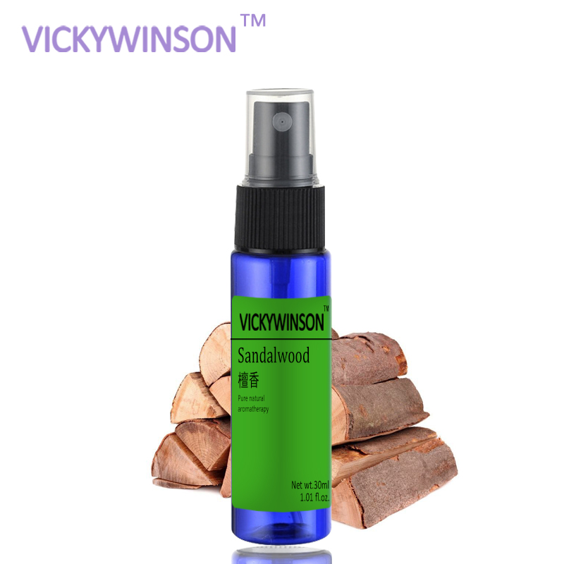VICKYWINSON Sandalwood Deodorization Spray 30ml Socks Shoes Deodorant Spray Shoes Stink Freshener Socks Odor Remover