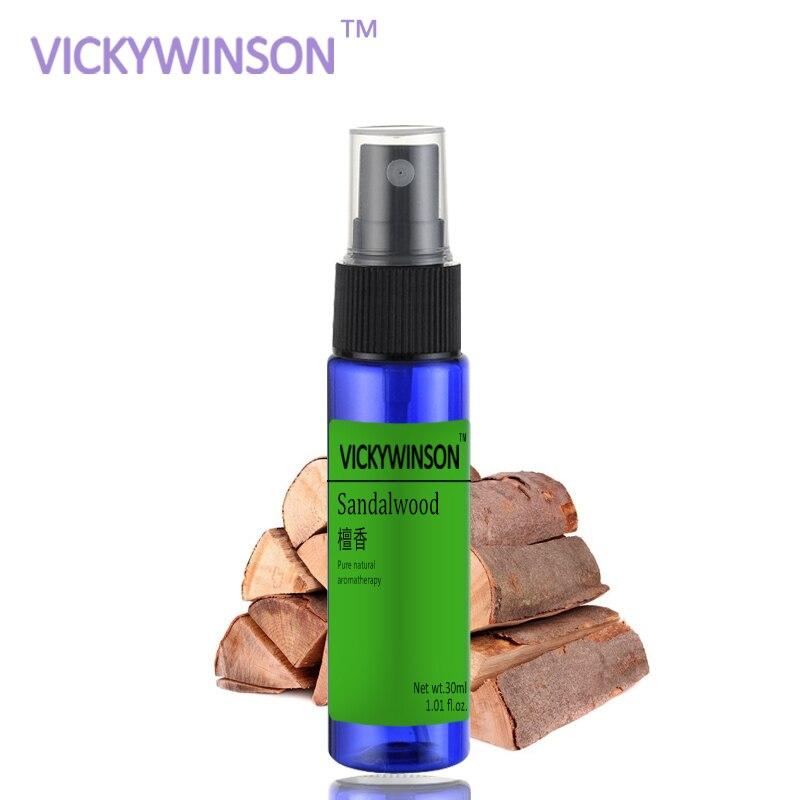 VICKYWINSON Sandalwood Deodorization Spray 30ml Socks Shoes Deodorant Spray Shoes Stink Freshener Socks Odor Remover
