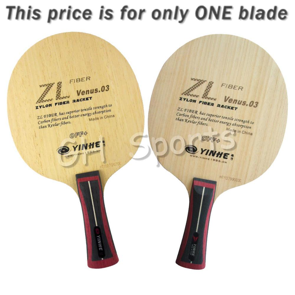Galaxy Milky Way Yinhe V 3 ZL Venus 03 OFF+ Zylon Fiber Table Tennis Blade for Ping Pong Racket Bat Paddle Racquet Sports