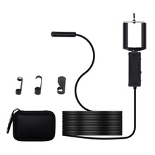 3 in 1 Handheld Industrial 5.5mm Lens Smart WIFI Endoscope 6pcs LED With Adjustable Light IP67 Waterproof For Phone Computer