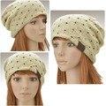 Nuevo 2014 de La Moda de Otoño de Las Mujeres Ocasionales Tapas, Sombreros de invierno Para Los Hombres, Señoras Unisex Gorros Mujer Turbante Sombrero 4 Colores 24
