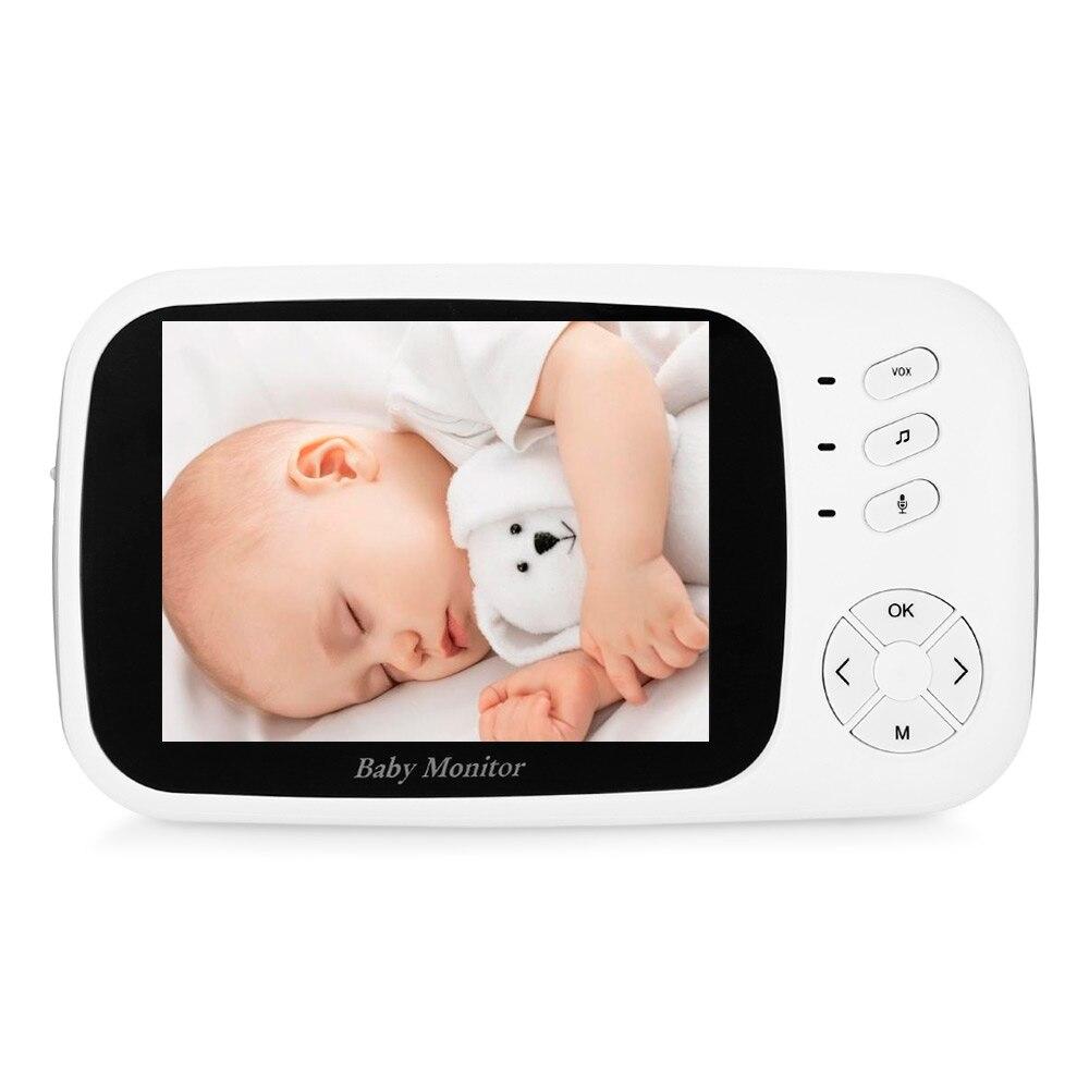 VB603 2.4 GHz 3.2 pouces écran lcd Sans Fil Bébés écran vidéo avec vision nocturne Surveillance de La Température XF808 3.5 pouces Moniteur - 4