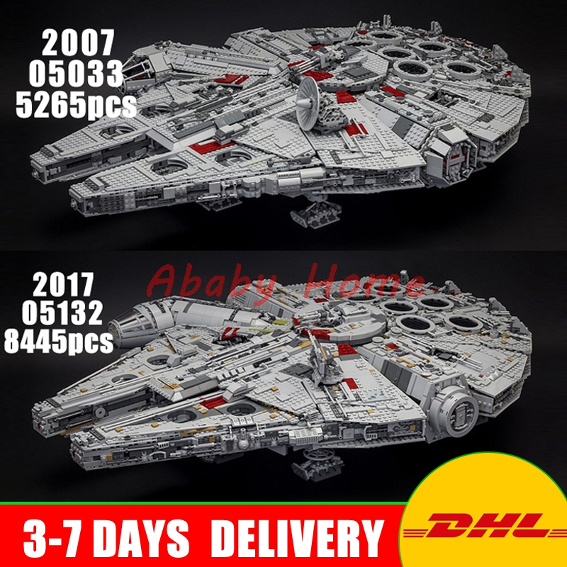 2018 DHL LEPIN Star Series War 05007 05033 05132 Building Blocks Bricks Model Toys Compatible 75105 10179 75192 Gifts 2018 dhl lepin star series war 05007 05033 05132 building blocks bricks model toys compatible 75105 10179 75192 gifts