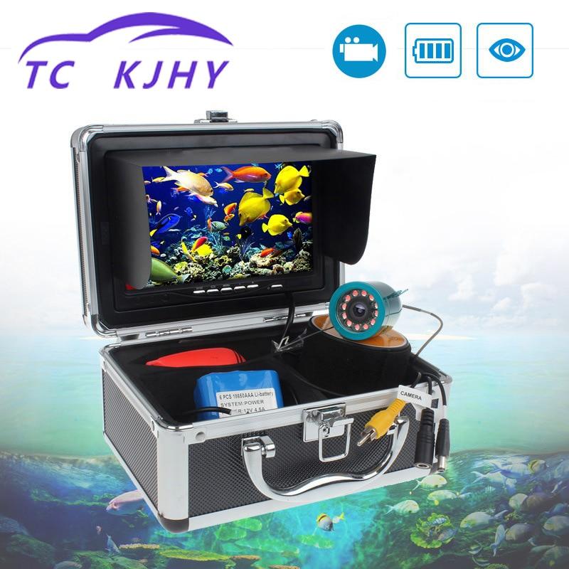 Auto 9 pouces Marine Gps étanche IP68 50 mètres haute définition 1000 ligne infrarouge lumière blanche pêche poisson détecteur affichage
