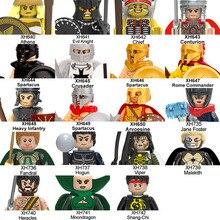 20pcs/lot Rome Knight Athena Spartacus Super Heroes Jane Foster Viper Moondragon Hogun Building Blocks Toys XH737 XH641 XH742