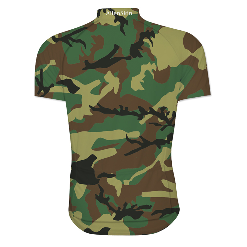 camouflage sublimation printing cycling jersey wear best 2018 pro polyester  cycling clothing summer men quick dry bicycle wear -in Cycling Jerseys from  ... 8f94a6399