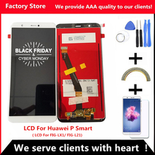 AAA качественный ЖК-дисплей+ рамка для huawei P Smart FIG-LX1/L21 ЖК-экран Замена для P Smart Digiziter сборка