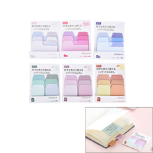 Memo Pads Sticky Notes Kawaii Cute Colorful Paper Daily Scrapbooking Stickers Office School Stationery Bookmark 1 Set