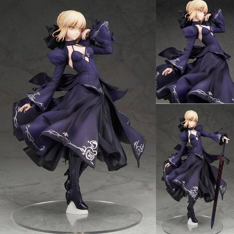 Fate/Grand Order Action Saber Anime figure 1/7 scale painted model dolls with box toy gift collection PVC new fate grand order saber altria pendragon alter dress ver pvc action figure collection toys valentine s day gift for friends