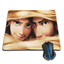 High Quality Hot Cartoon Tangled Princess Customized Mouse Pad Fashion and Amazing Computer Notebook Laptop Gaming Mice Mat Pad