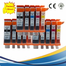 15 x PGI-650 PGI-650XL CLI-651 PGI650 PGI 650 Ink Cartridge For Canon Pixma MG-6460 MG-7160 MX-926 MX-726 Ip-7260 Inkjet Printer