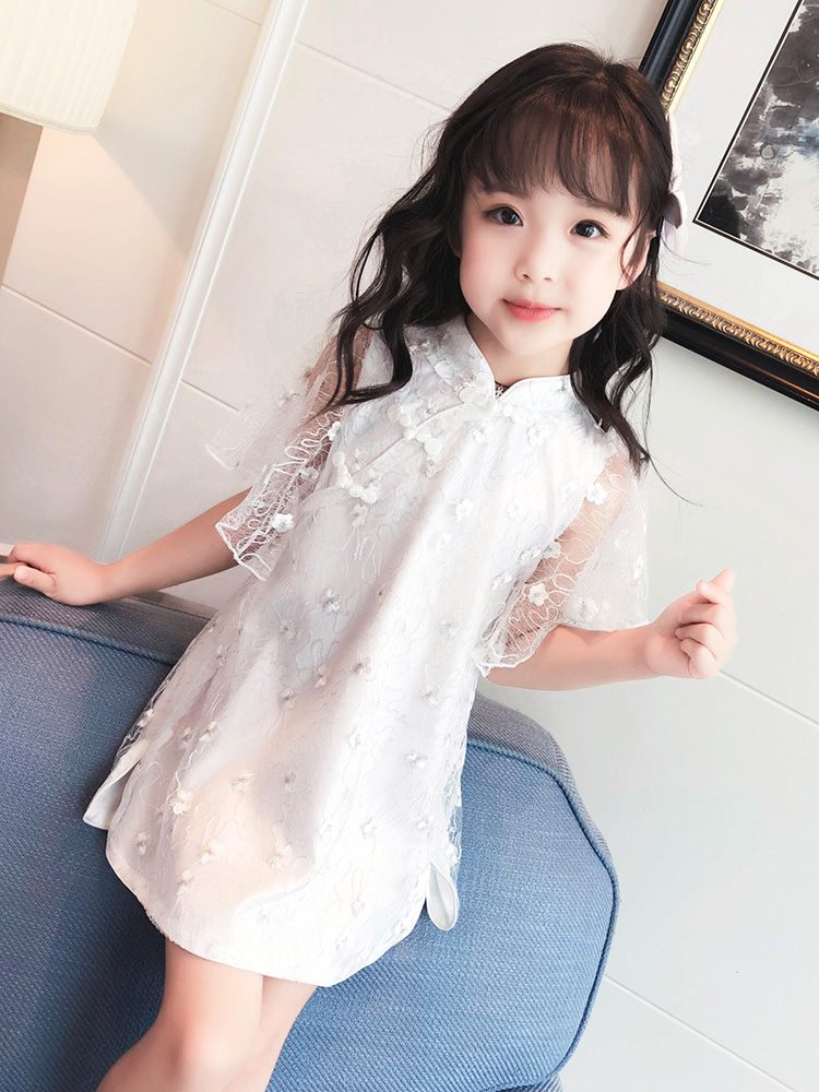 2018 winter red year chinese dress kids children cheongsam baby girl modern qipao vestido oriental dresses traditional short modern cheongsam chinese dress robe vietnam ao dai chinese traditional dress chinese dress qipao chiffon