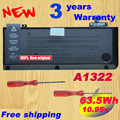 "Original laptop Battery A1322 For APPLE MacBook Pro 13 "" Unibody A1278 Mid 2009 2010 2011 Battery+ Gift Screwdriver"