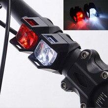 LED Bicycle Lights Waterproof bike Rear Front Light Head Lig