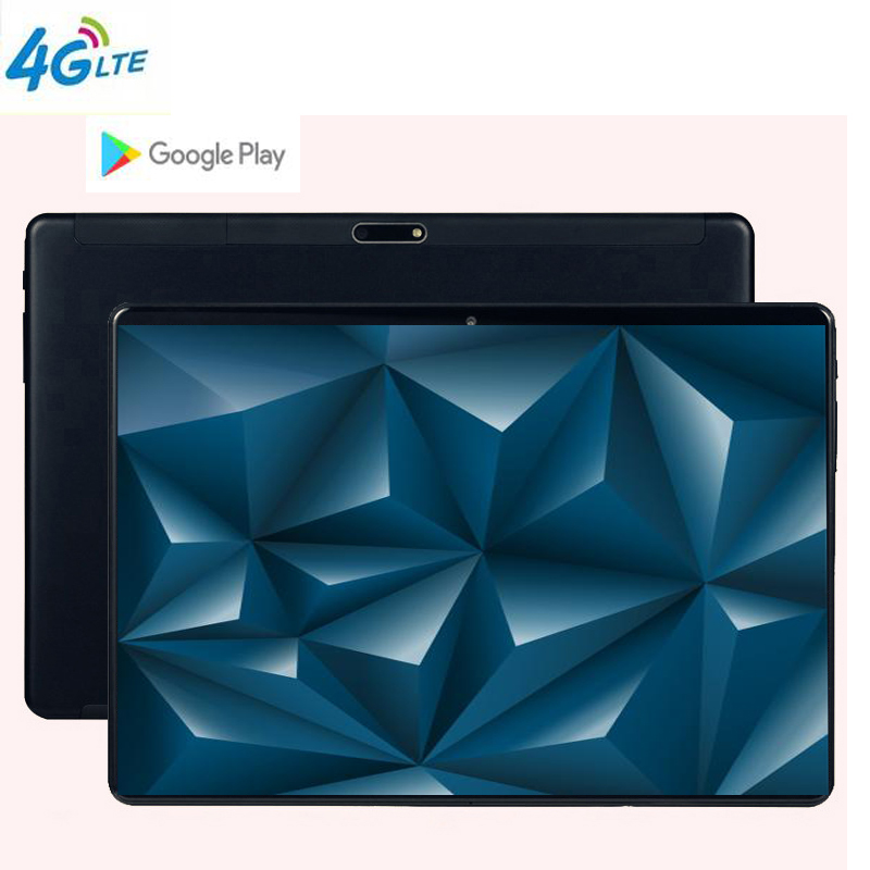 10 inch Tablet PC  HD 2.5D Glass Screen Multi-touch Glass Back cover Bluetooth GPS 3G Wifi Octa Core 64GB  5MP Android 9.010 inch Tablet PC  HD 2.5D Glass Screen Multi-touch Glass Back cover Bluetooth GPS 3G Wifi Octa Core 64GB  5MP Android 9.0