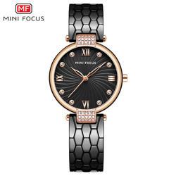 Мини фокус Модные кварцевые часы для женщин часы дамы обувь для девочек известный бренд наручные часы женские Montre Femme Relogio MF0186L. 03