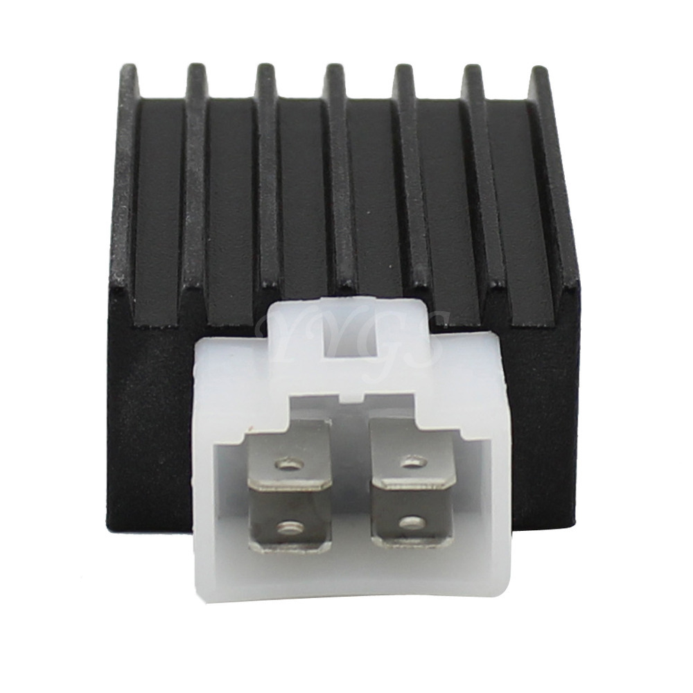4 Pins Voltage Regulator Rectifier 4 Prong 50cc 70cc 90cc 110cc 125cc 150cc Chinese Scooter ATV aliexpress com buy 4 pins voltage regulator rectifier 4 prong 4 pin regulator rectifier wiring diagram at bakdesigns.co